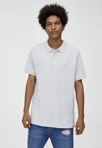 PULL&BEAR - Poloshirt - grey - 0