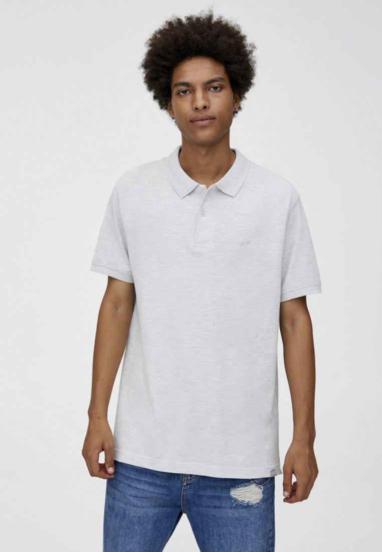 PULL&BEAR - Poloshirt - grey