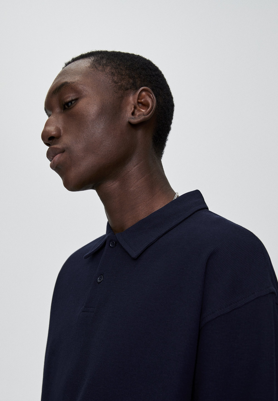 PULL&BEAR Koszulka polo - dark blue