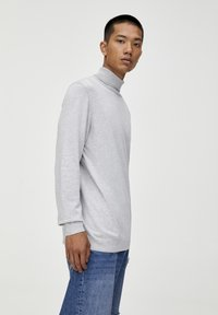 PULL&BEAR - Trui - light grey - 3