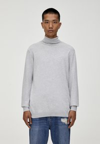 PULL&BEAR - Trui - light grey - 0