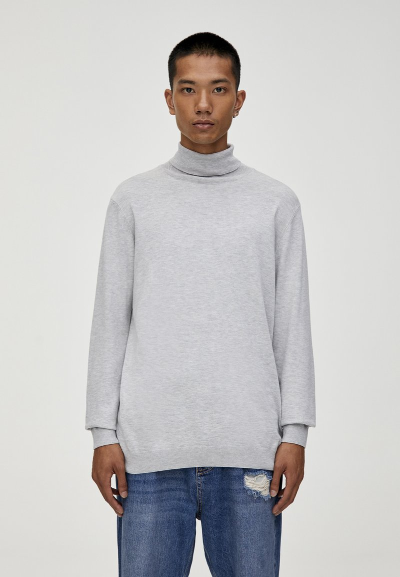 PULL&BEAR - Trui - light grey