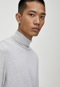 PULL&BEAR - Trui - light grey - 4