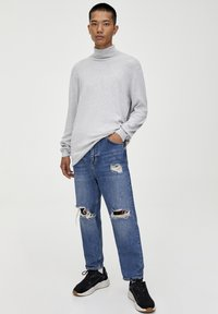 PULL&BEAR - Trui - light grey - 1