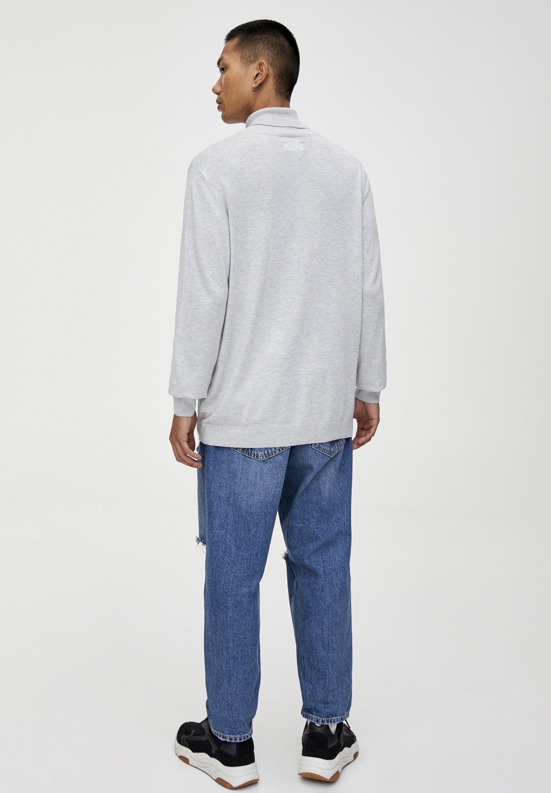 PULL&BEAR Maglione - light grey