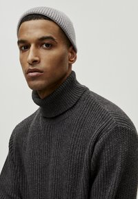 PULL&BEAR - MIT VOLLPATENTMUSTER - Trui - dark grey - 4