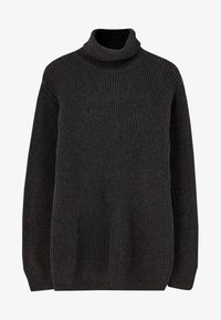 PULL&BEAR - MIT VOLLPATENTMUSTER - Trui - dark grey - 5