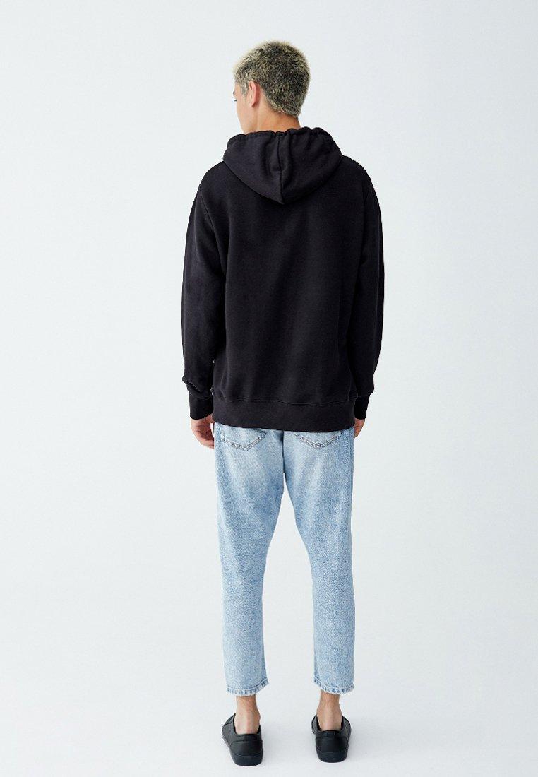 PULL&BEAR Sweatshirt - black - Herrkläder Rabatter