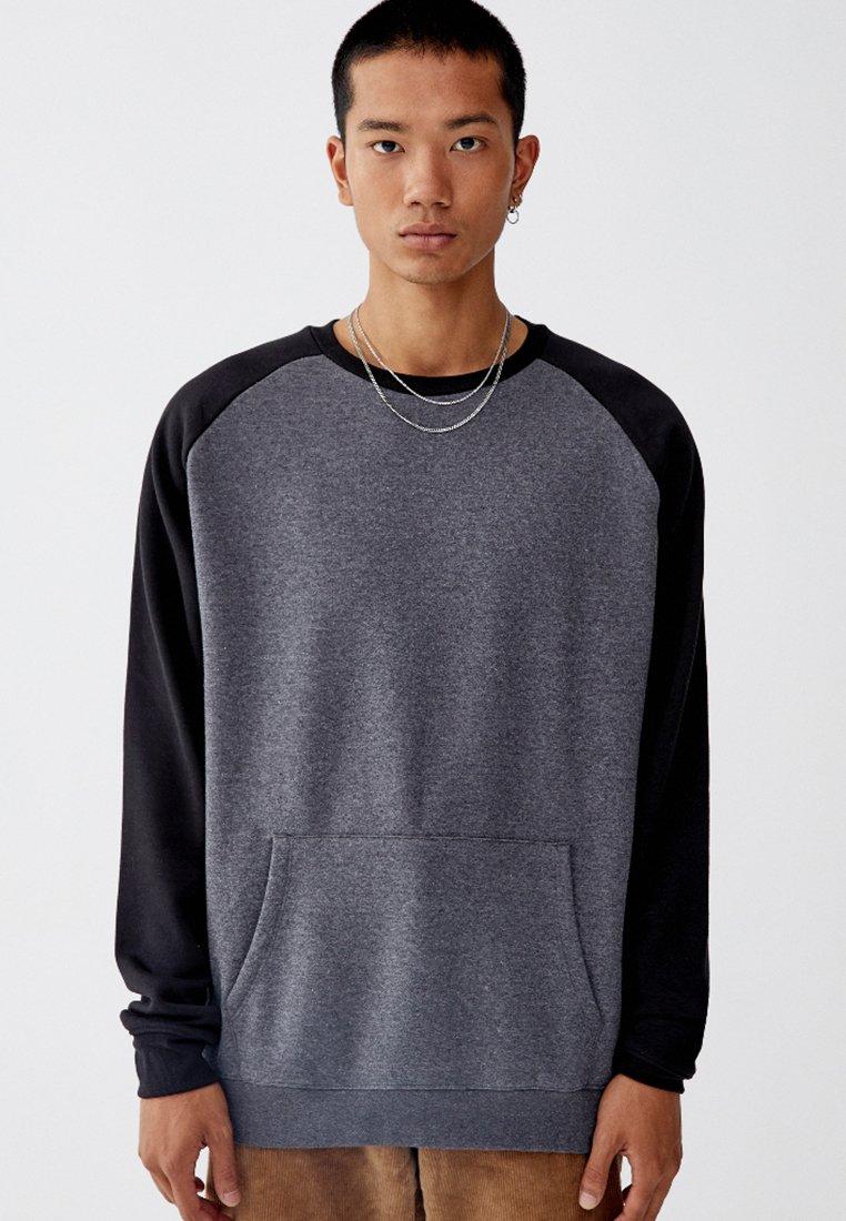 PULL&BEAR - Sweatshirt - black