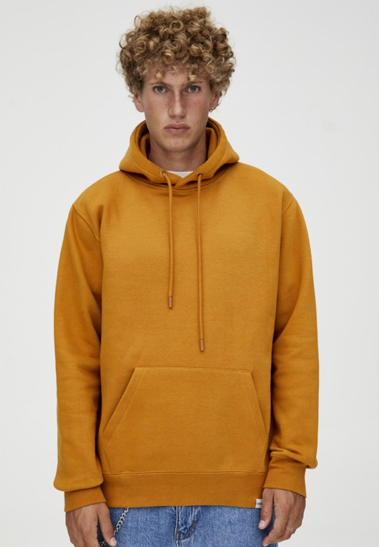 PULL&BEAR - MIT KAPUZE  - Hættetrøjer - mustard yellow