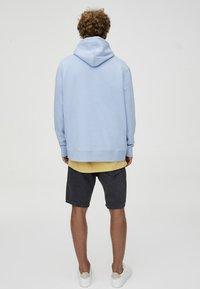 PULL&BEAR - Sweat à capuche - light blue - 2