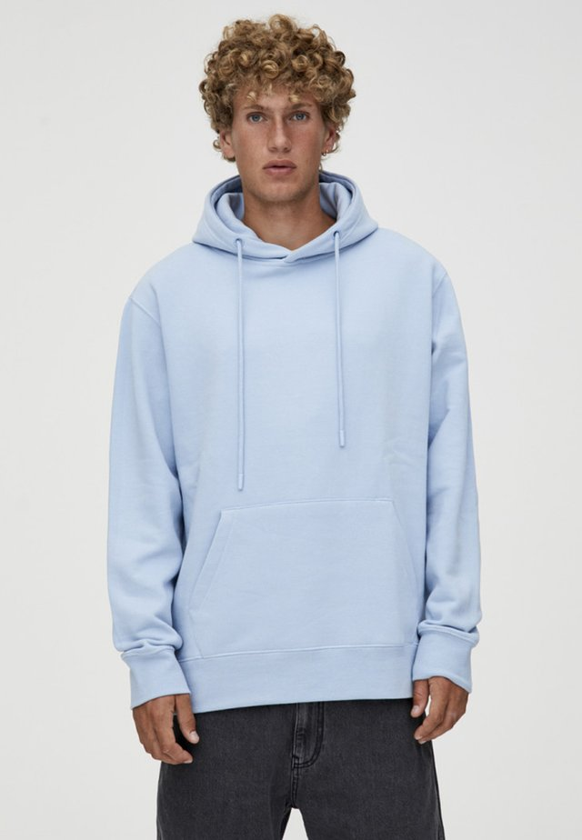 Sweat à capuche - light blue