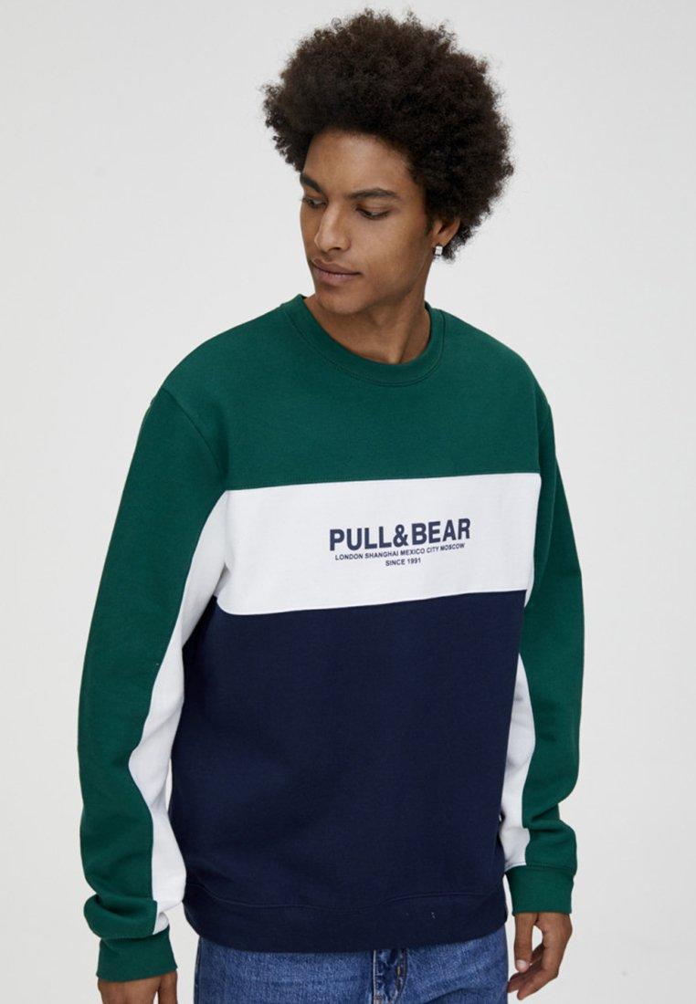 PULL&BEAR - Sweater - blue