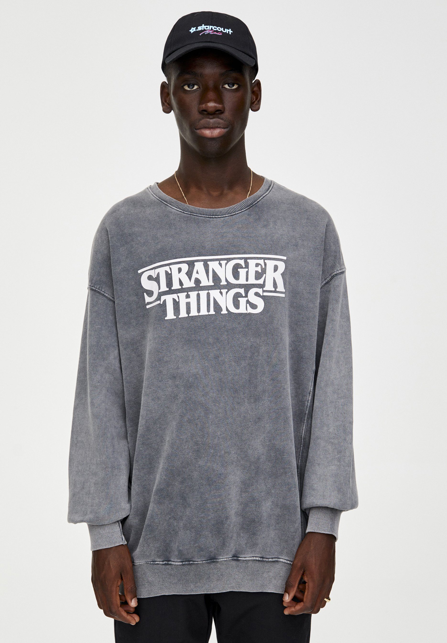PULL&BEAR Sweatshirt black