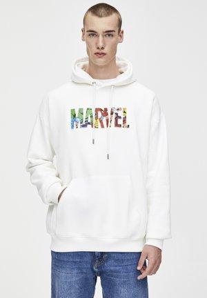 MARVEL - Hoodie - white