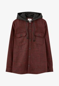 PULL&BEAR - veste en sweat zippée - red - 6