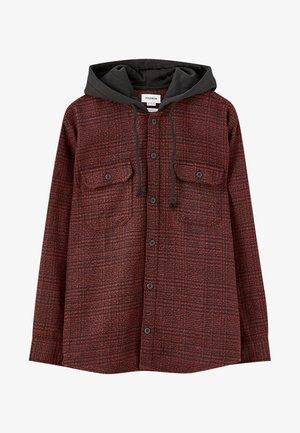 Bluza rozpinana - red