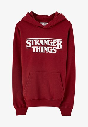 STRANGER THINGS - Hoodie - bordeaux