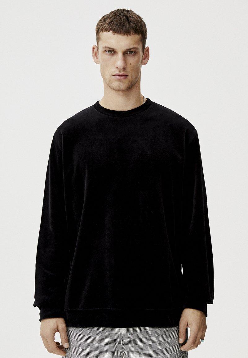 PULL&BEAR - Trui - mottled black