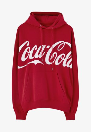 COCA-COLA - Hoodie - light red