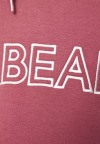 PULL&BEAR - SWEATSHIRT MIT KAPUZE UND SLOGAN PULL&BEAR 05593569 - Hoodie - salmon - 5