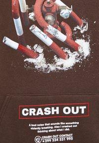 """PULL&BEAR - BRAUNES SWEATSHIRT """"CRASH OUT"""" 05596536 - Hoodie - brown - 5"""