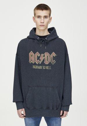 VERWASCHENER AC/DC-HOODIE 05596509 - Hoodie - black