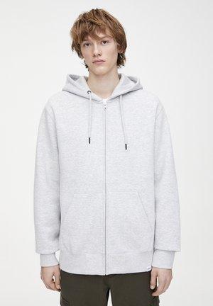 BASIC-SWEATSHIRT MIT KAPUZE 09596501 - Zip-up hoodie - grey