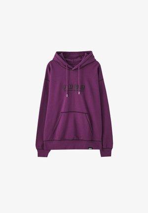 Sweat à capuche - purple