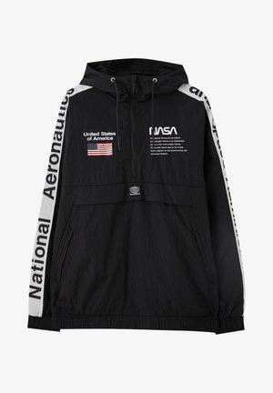 NASA - Větrovka - black