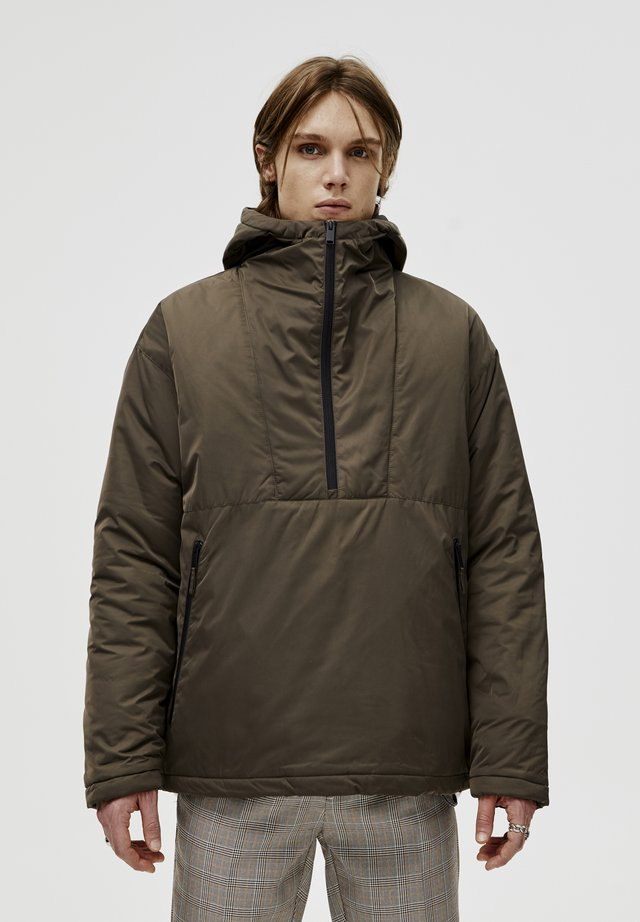 DENIMJACKE MIT RISSEN 05713502 - Zimní bunda - dark green