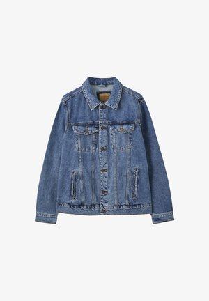 MIT RISSEN  - Veste en jean - dark blue