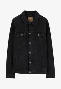 PULL&BEAR - Giacca di jeans - black - 5