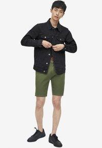 PULL&BEAR - Giacca di jeans - black - 1
