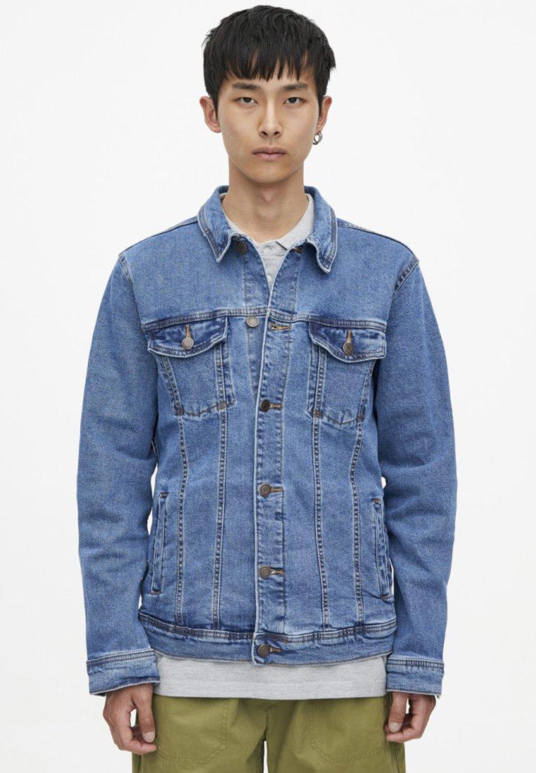 PULL&BEAR - Denim jacket - blue denim