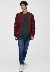 PULL&BEAR - BASIC - Bomberjacks - bordeaux - 1
