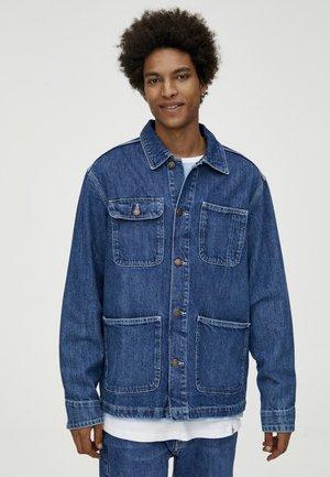 MIT KONTRASTEN - Džínová bunda - blue