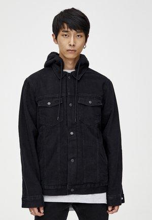 MIT KONTRASTEN  - Džínová bunda - black