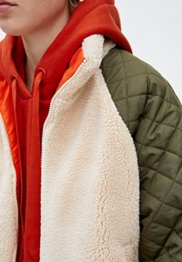 PULL&BEAR - Giacca invernale - beige - 4