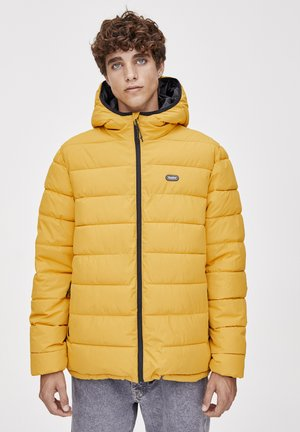 Zimní bunda - mustard yellow