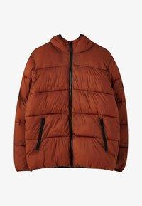 PULL&BEAR - Winterjas - mottled red - 6