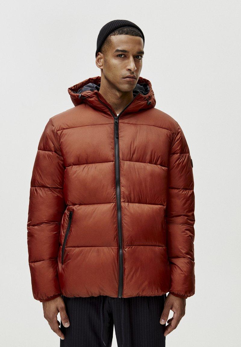 PULL&BEAR - Winterjas - mottled red