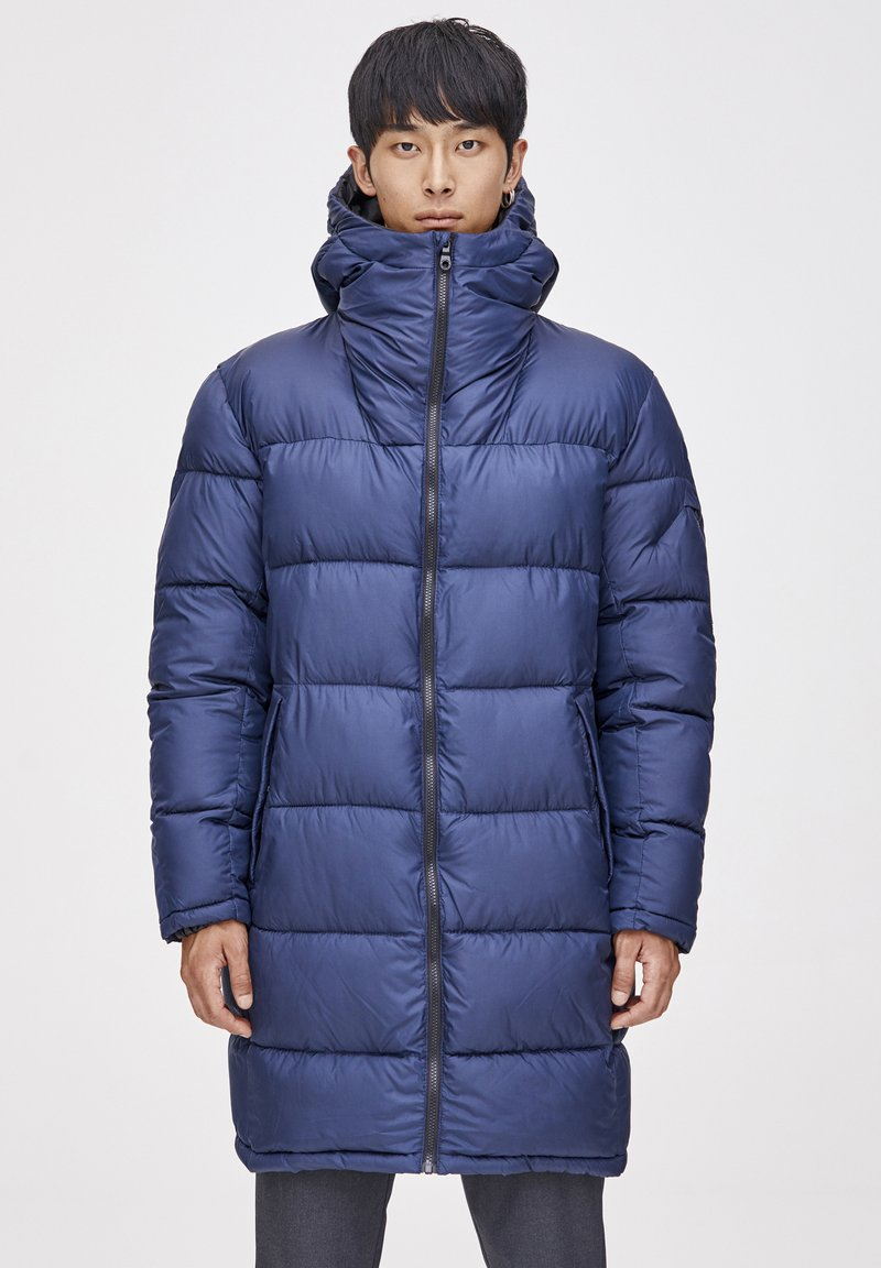 PULL&BEAR - Winter coat - dark blue