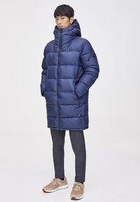 PULL&BEAR - Veste d'hiver - dark blue - 3