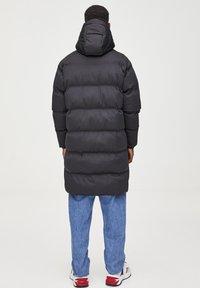 PULL&BEAR - Cappotto invernale - black - 2