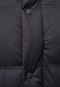 PULL&BEAR - Cappotto invernale - black - 5