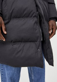 PULL&BEAR - Winter coat - black - 4