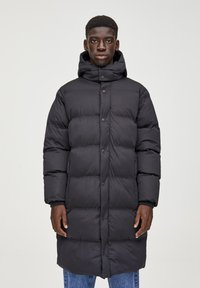 PULL&BEAR - Cappotto invernale - black - 0