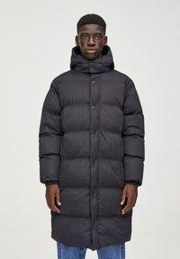 PULL&BEAR - Winter coat - black - 0
