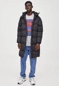 PULL&BEAR - Winter coat - black - 1